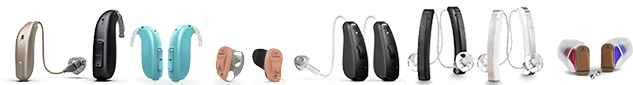 Hearing aids lineup